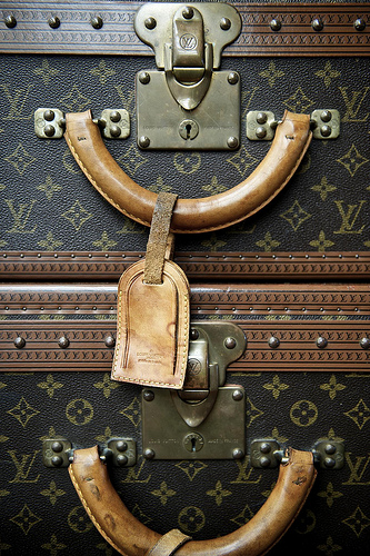 louis vuitton luggage photo